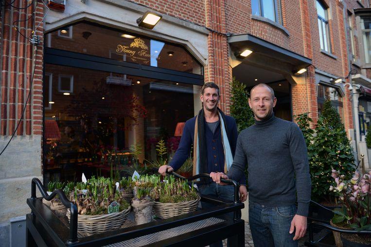 Tom Nackaerts en Peter Van Dessel van Young Amadeus.