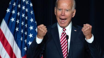 Biden voorlopig op kop bij Democraten, maar voorsprong is niet groot