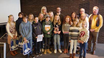 Vincent wint Junior Journalist-wedstrijd