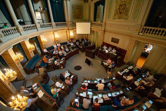Illustratiebeeld: De Antwerpse gemeenteraad.