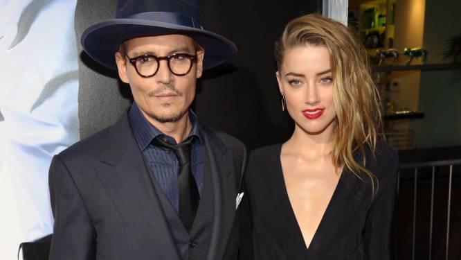 """""""Amber twijfelt aan huwelijk Johnny Depp"""""""