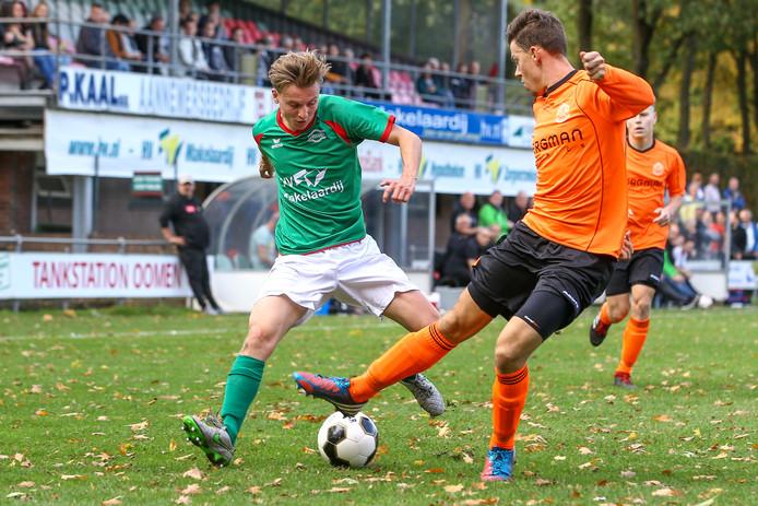 Ewijk eerder dit seizoen tegen Germania.