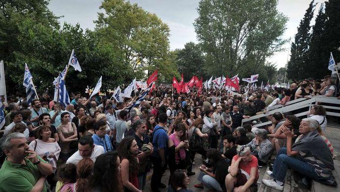 Protesten in Athene