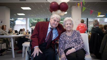 """Jeanne viert 100ste verjaardag met partner Rik (101): """"Dat we nog lang bijeen mogen blijven"""""""