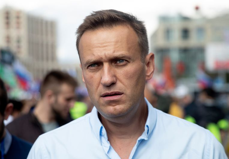 De Russische oppositieleider Alexej Navalny.