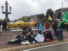 Journalisten belemmerd in hun werk bij protest Extinction Rebellion