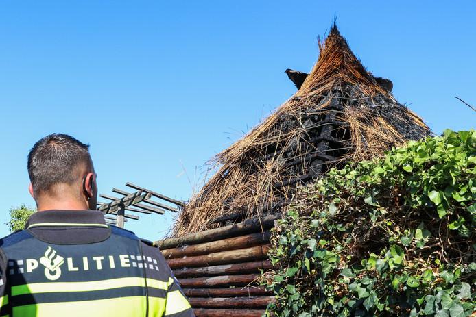 Na drie keer brand in dezelfde schuur aan de Bossulaan in Emmeloord in korte tijd, sluit de politie Midden-Nederland brandstichting niet meer uit.