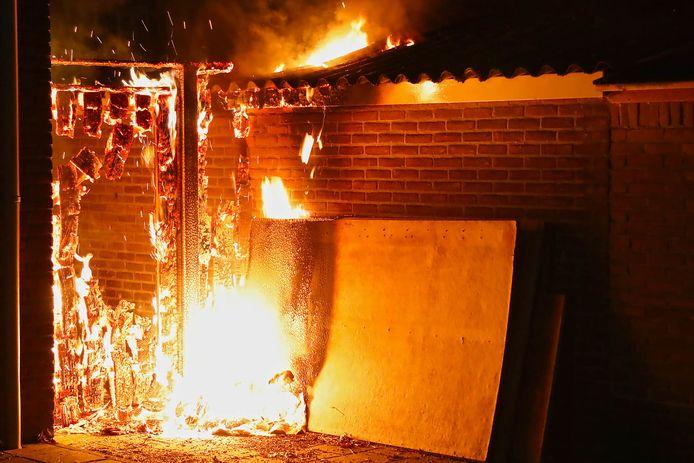 Brand Zwaluwstraat Oss.