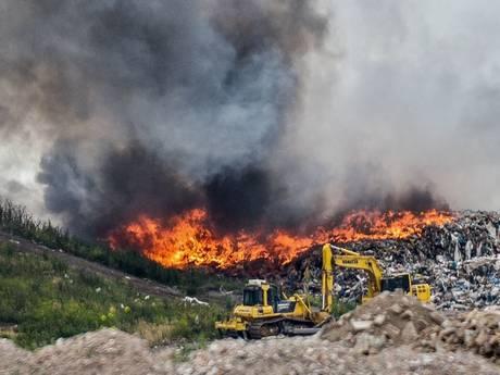 Brand bij Attero is onder controle