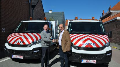 Oosterzele neemt twee dienstwagens op milieuvriendelijk aardgas in gebruik