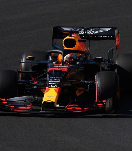 Verstappen op hardere banden nipt achter Mercedessen in slottraining