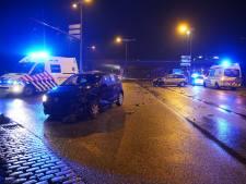 Forse aanrijding op afrit A1 bij Deventer: verkeer moet terug snelweg op