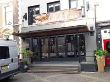 Biergarten in voormalig Bro'od in de Grutstraat