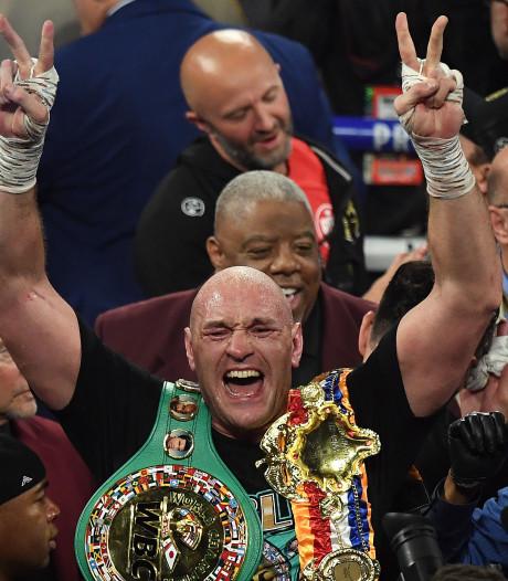Fury klopt Wilder in gevecht der giganten en verovert wereldtitel zwaargewicht