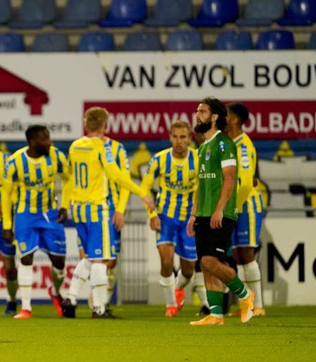 Samenvatting: Invaller Stokkers bezorgt RKC Waalwijk gelijkspel tegen PEC Zwolle