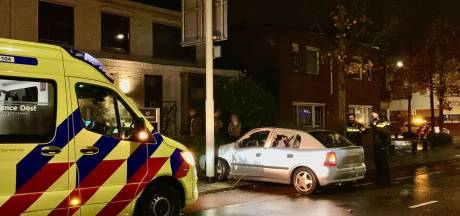 Automobilist gewond na ongeval in Oldenzaal