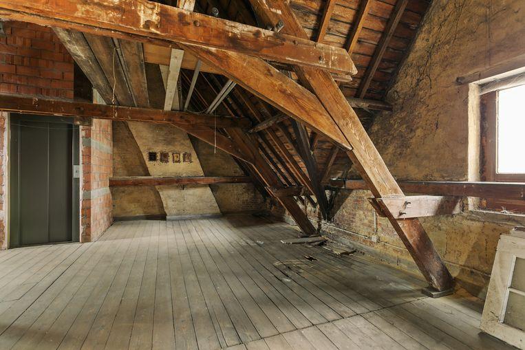 De zolderverdieping biedt ook nog mogelijkheden.