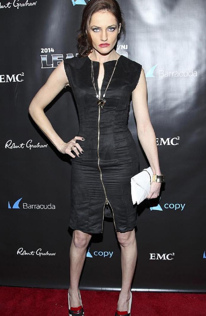 Kate Stoltz woonde op 1 februari het jaarlijkse 'Leather & Laces'-feestje in New York bij.
