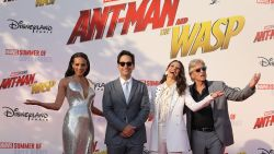 Cast Marvel-film 'Ant-Man and The Wasp' strijkt neer in Disneyland Paris