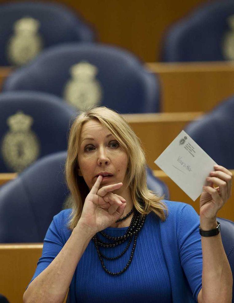 GroenLinks-Kamerlid Liesbeth van Tongeren Beeld anp