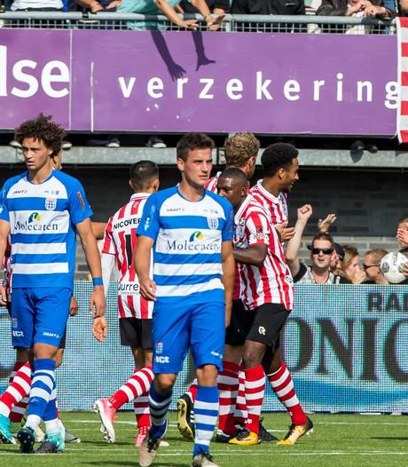 PEC Zwolle houdt punt over aan matig optreden