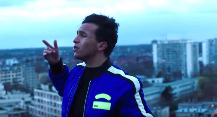 Rapper Soufiane Eddyani reageert op Instagram voor het eerst op de heisa na zijn nieuwe song.
