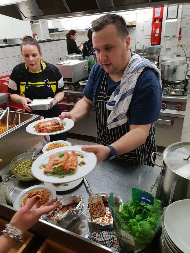 Lorenzo Maggio stond in de keuken tijdens de Spaghettiwestern van de Halse Daltons.