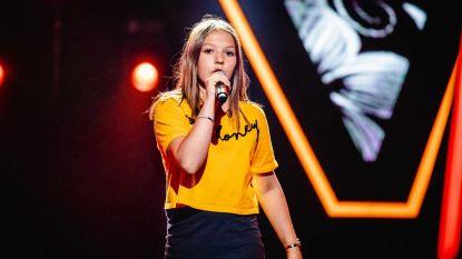 Amber Peeters (13) brengt 'girlpower' in The Voice Kids