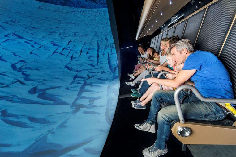 Simulator Voletarium is zo levensecht dat er op het einde van de 'vlucht' zelfs applaus komt — net als échte piloten dat krijgen.