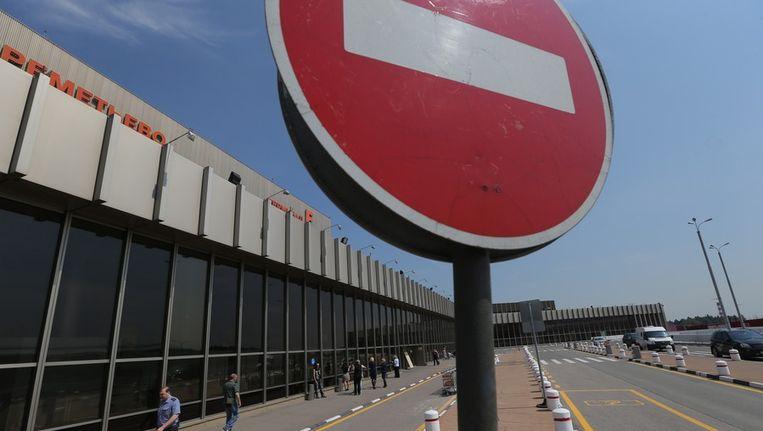 Het Sjeremetjevo-vliegveld bij Moskou, waar Snowden volgens Rusland nog altijd in de transferzone verblijft. Beeld ap