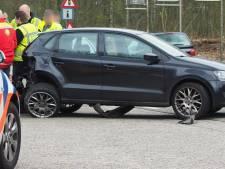 Automobilist gewond bij botsing met busje in Amersfoort