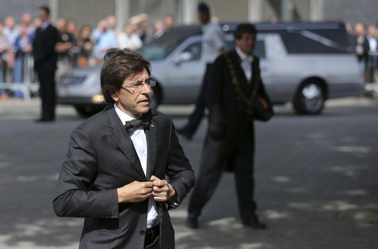 Premier Elio Di Rupo.