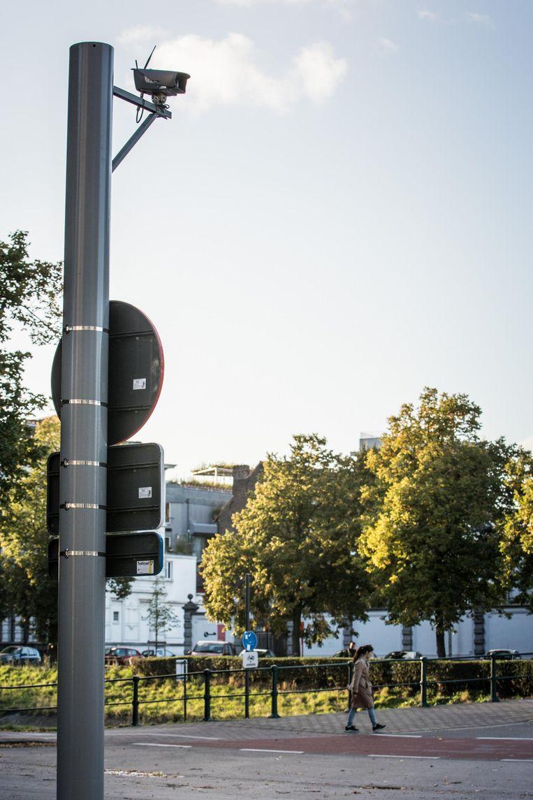 In Gent wordt momenteel nog zuinig omgesprongen met camera's, al is het de bedoeling om ANPR-camera's, die nummerplaten registreren, ook in te zetten om de criminaliteit te bestrijden.