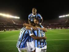 Grêmio wint eerste halve finale in Copa Libertadores bij River Plate