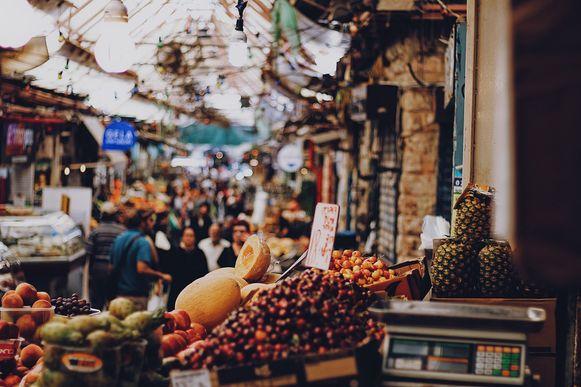 Foodmarket in Israël.