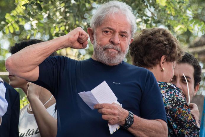De Braziliaanse oud-president Lula.