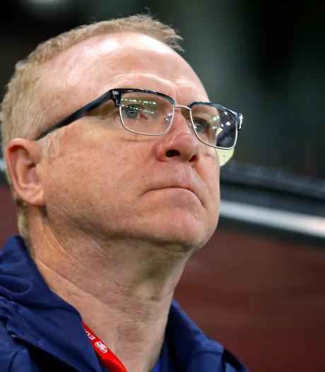 McLeish ontslagen als bondscoach Schotland