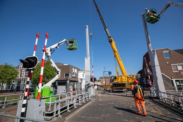 De Lijndraaiersbrug in Maassluis werd begin deze week geïnspecteerd naar aanleiding van het incident twee weken geleden.