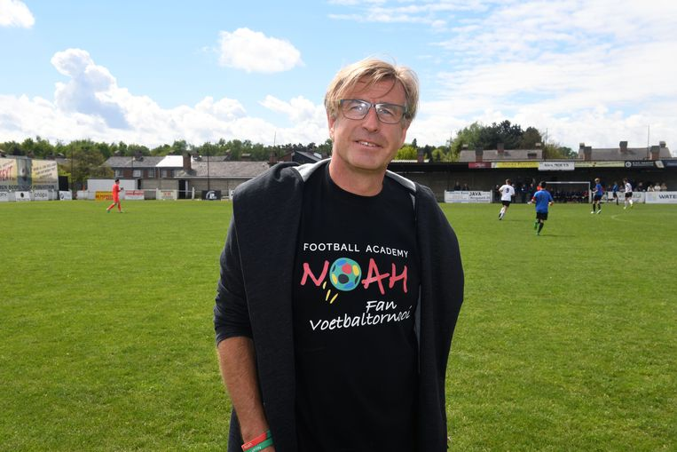 Papa Johan Mortier organiseert de vierde editie van het FAN-voetbaltoernooi