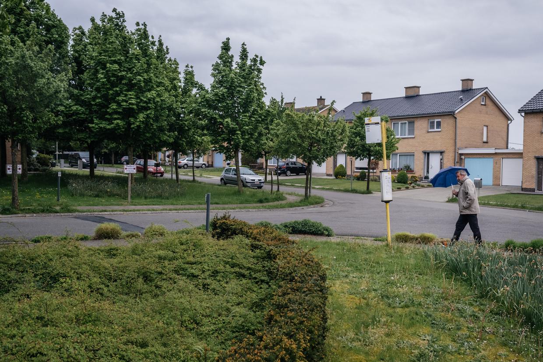Een sociale woonwijk in Zomergem.