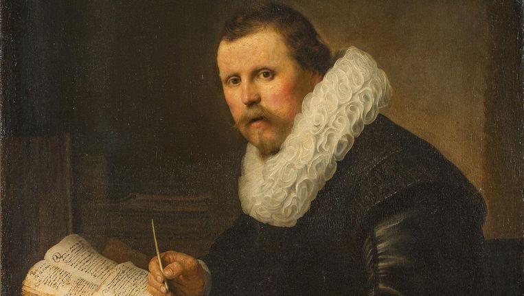 Rembrandt van Rijn (1606-1669), Portret van een man met kraag, 1631. Beeld State Hermitage Museum, St Petersburg