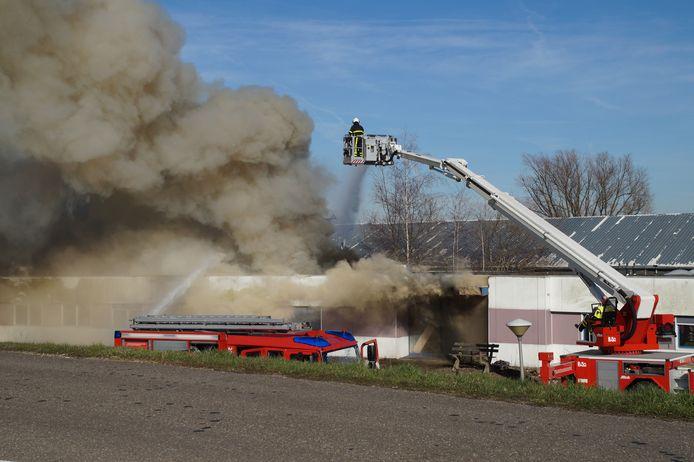 De grote brand in Woudrichem