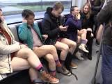 Ludieke actie: In je ondergoed in de Amsterdamse metro