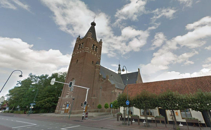 De Antonius Abtkerk in Chaam.