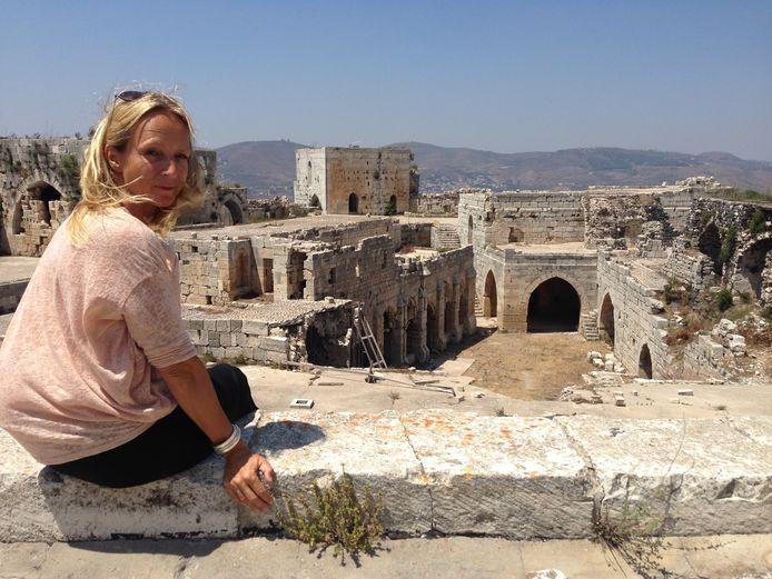 Floortje Dessing eerder in Syrië.