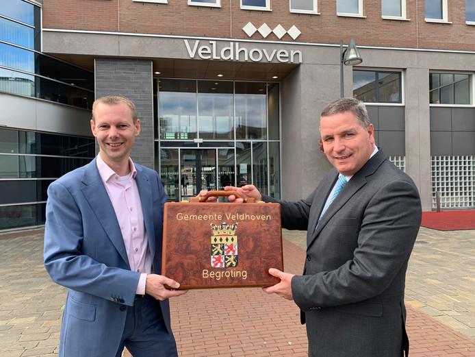 Overhandiging begroting Veldhoven