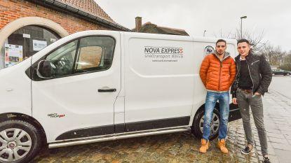 Broers starten met koerierdienst NoVa Express