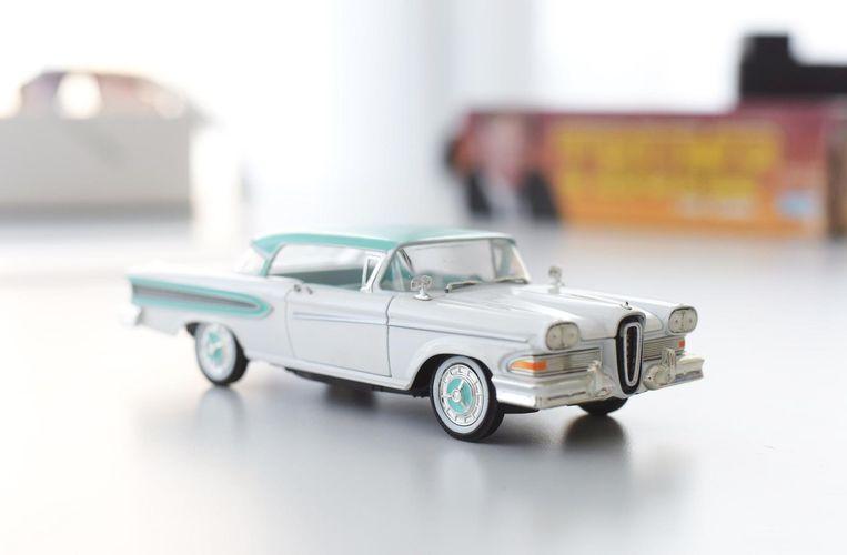 Ford Edsel (miniatuur) Beeld Sofie Lindberg