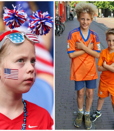 WK-sfeer ver te zoeken in Nederland en VS: 'Is het al de laatste wedstrijd?