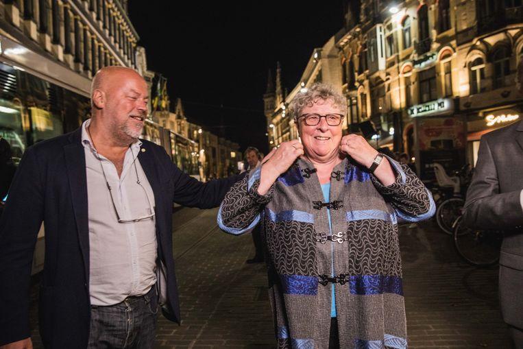 Mieke Van Hecke houdt zich klaar voor een plek in het stadsbestuur.